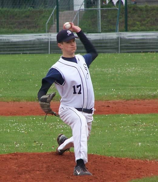 Michael Wöhrl (16) wurde beim Baseball-Länderpokal Junioren als beste Pitcher des Turniers ausgezeichnet.