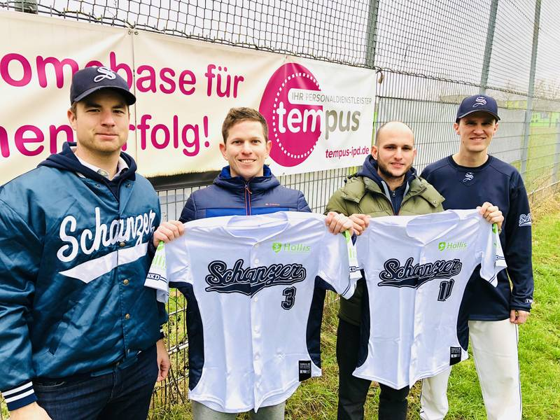 von links: Holger Koch, Javier Sosa Cavicchioni, Dayan Ramos Gomez, Matthias Rucker