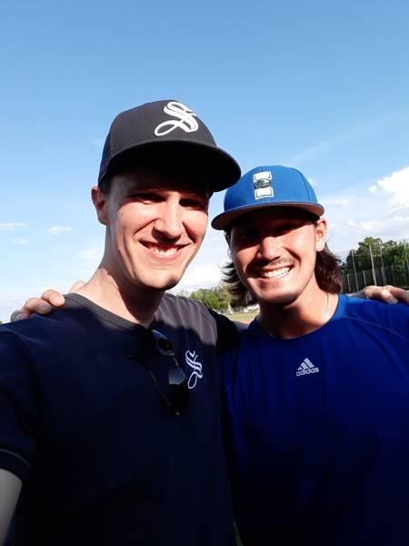 Dawson Yates (rechts) mit Matthias Rucker (Foto: Rucker)