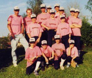 Juniorenmannschaft 1991