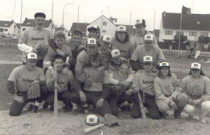 Mannschaftsfoto der 1. Mannschaft 1986